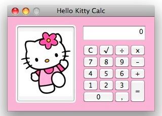Hello Kitty Calc