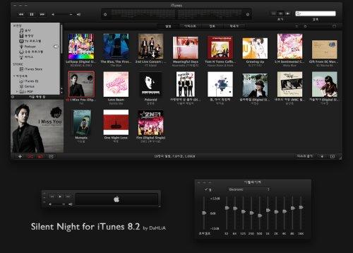 iTunes Skins