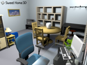 SweetHome3D 1