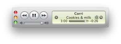 MiniPlayer iTunes